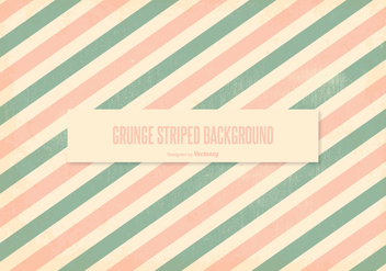 Peach Grunge Stripes Background - vector gratuit #385749