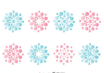 Nanotechnology Symbol Collection vector - vector #385839 gratis