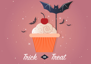 Free Trick or Treat Vector Illustration - бесплатный vector #386179