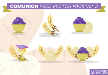 Comunion Free Vector Pack Vol. 4 - vector gratuit #386209