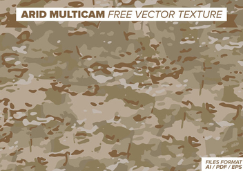 Arid Multicam Free Vector Texture - Free vector #386409