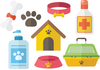 Free Dog Icon Vector - vector gratuit #386419