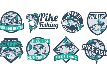 Free Pike Icons Vector - бесплатный vector #386479