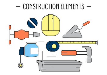 Free Construction Elements - Free vector #387139