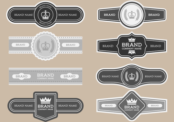 Free Cigar Label Vector - бесплатный vector #387449