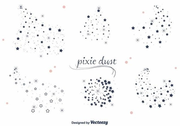 Pixie Dust Vector - vector #387769 gratis