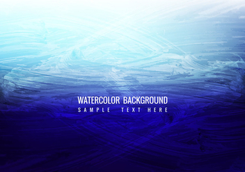 Free Vector Watercolor Background - vector gratuit #388179
