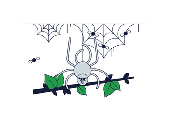 Free Spider Web Vector - бесплатный vector #388199