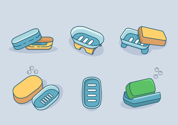 Soap Box Vector Pack - бесплатный vector #388289
