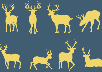 Free Kudu Icons Vector - Free vector #388419
