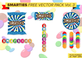 Smarties Free Vector Pack Vol. 3 - Free vector #388469