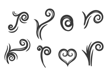 Tribal KoruTattoo Vector Set - Kostenloses vector #388649