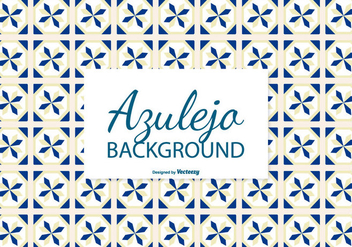 Azulejo Tile Background - Free vector #388909