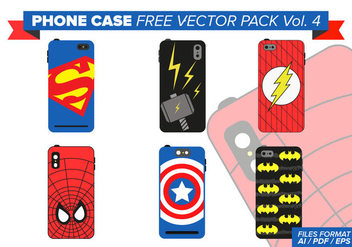 Hero Phone Case Free Vector Pack Vol. 4 - Kostenloses vector #388949