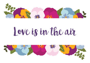 Love Is in the Air - vector gratuit #388979