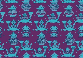 Kalash Pattern Vector - Free vector #389159