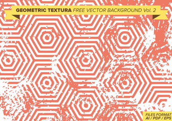 Geometric Textura Free Vector Background Vol. 2 - vector gratuit #389299
