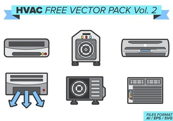 Hvac Free Vector Pack Vol. 2 - Kostenloses vector #389319