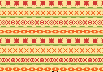 Ethnic Songket Pattern Vector - бесплатный vector #389509