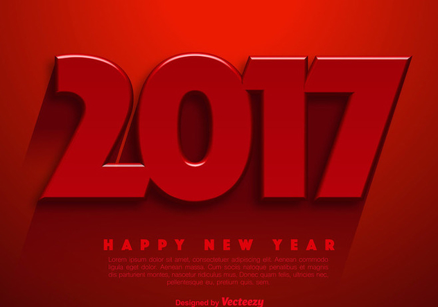 new year 2017 vector abstract background vector 389639