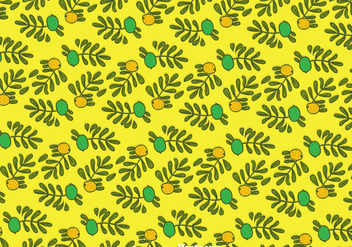 Hand Drawn Argan Seamless Pattern - Kostenloses vector #389749