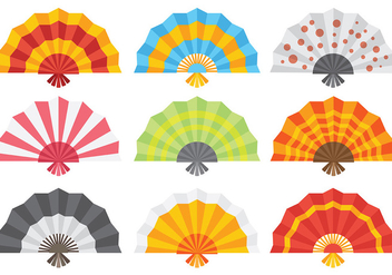 Free Spanish Fan Icons Vector - Free vector #390329