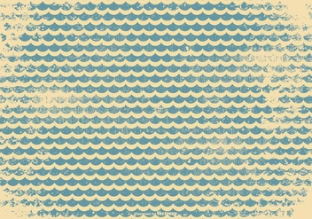 Retro Grunge Pattern Background - Kostenloses vector #390349