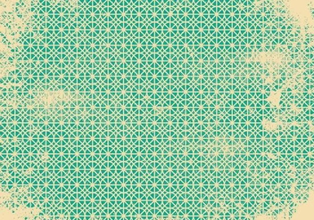 Retro Grunge Pattern Background - vector gratuit #390509