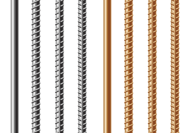 Free Rebars and Reinforcement Steel Vector - Free vector #390599