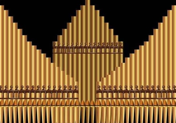 Pipe Organ Church Musical Background - Kostenloses vector #390789