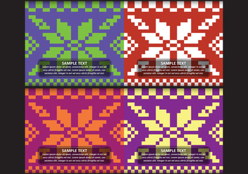 Design Songket Pattern - бесплатный vector #391049