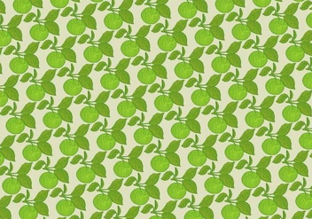 Apple Seamless Pattern - Free vector #391089