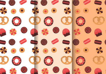 Free Sweets Pattern Vector - бесплатный vector #391279