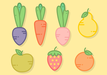 Free Fresh Food Vector - vector #391449 gratis