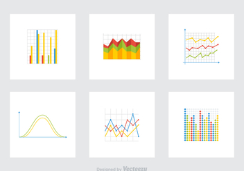 Free Graphs Vector Icons - бесплатный vector #391499