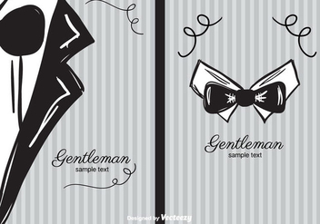 Gentleman Background - Kostenloses vector #391649