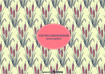 Cattails Background Vector - Free vector #391669