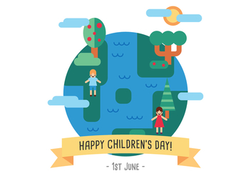 Children's World - Kostenloses vector #391879