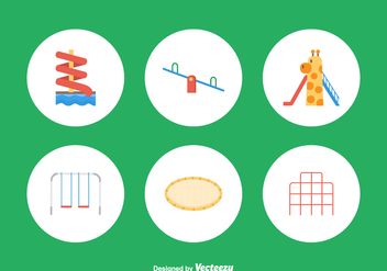 Free Playground Vector Icons - бесплатный vector #392249