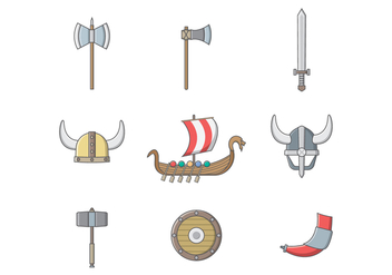 Free Viking Vector - бесплатный vector #392269
