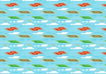 Free Magic Carpet Vector - Free vector #392429