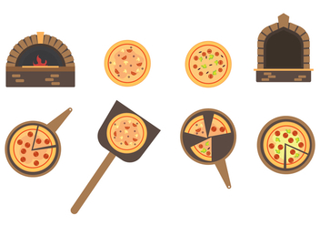 Free Pizza Vector - бесплатный vector #392689
