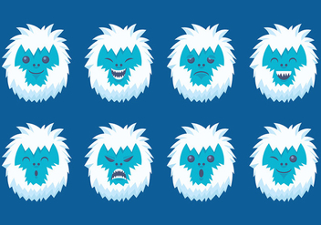Free Yeti Icons Vector - Free vector #392969