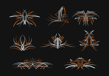 Free Pinstripes Vector Set - Kostenloses vector #393139