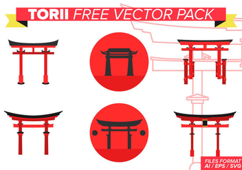 Torii Free Vector Pack - Free vector #393399