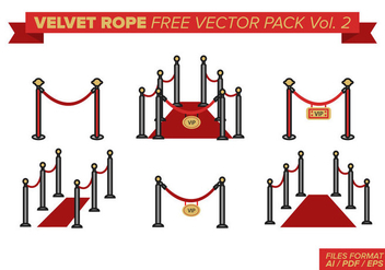 Velvet Rope Free Vector Pack Vol. 2 - Free vector #393569