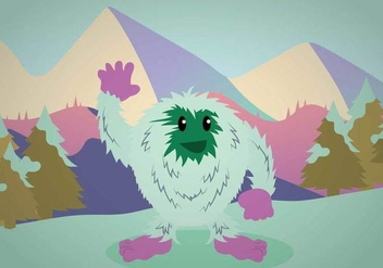 Free Yeti Illustration - Kostenloses vector #393959