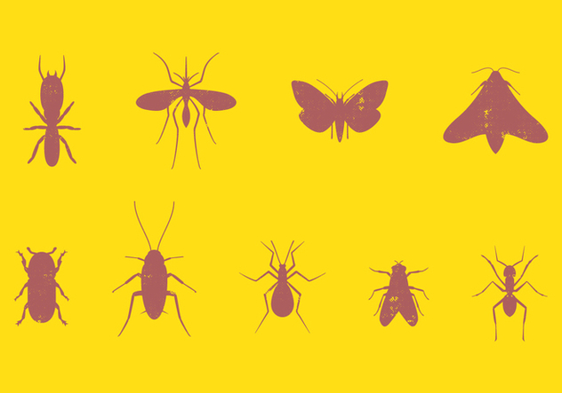 Pest Insect Set - vector gratuit #393989