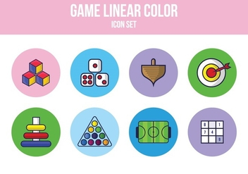 Free Game Icon Set - vector #394129 gratis