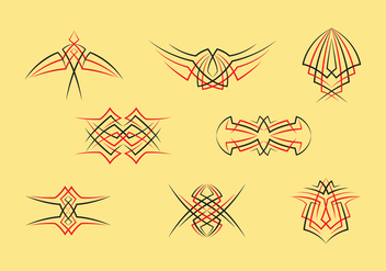 Pinstripes Graphic - vector #394279 gratis